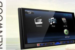 Обзор автомагнитолы Kenwood (Кенвуд) DMX100 с встроенным монитором