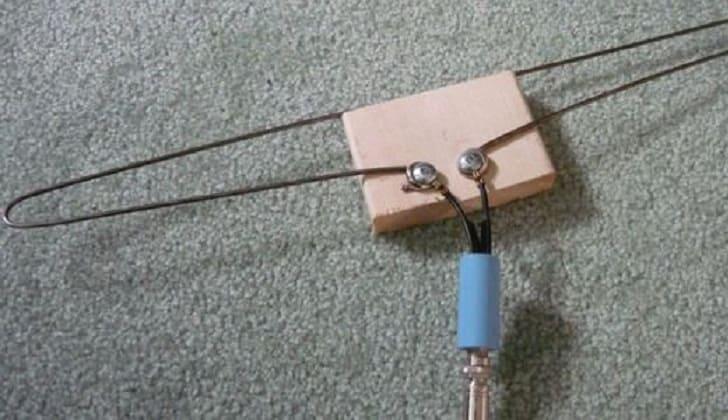 Самодельная ТВ антенна в автомобиль