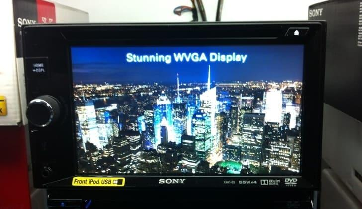 Среди коробок Sony XAV-65