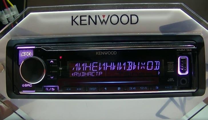 Встроенная Kenwood KMM-124