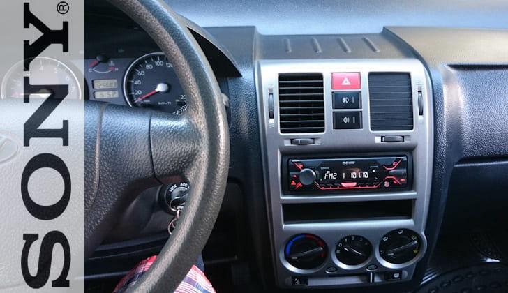 Встроенная в машину Сони A410BT