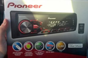 Эксплуатация и настройка автомагнитолы Pioneer (Пионер) MVH-280FD