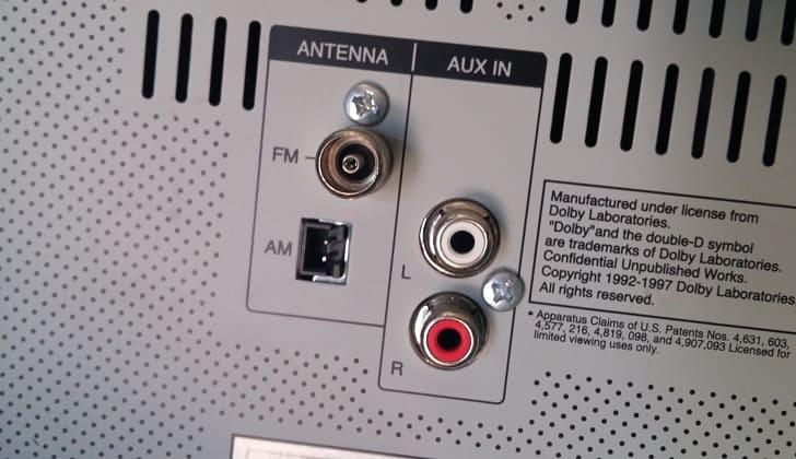 Место для подключения антенны