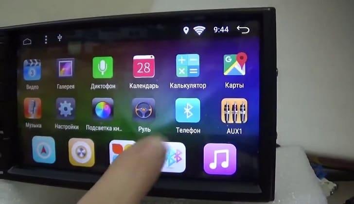 Прошивка автомагнитолы на Андроиде
