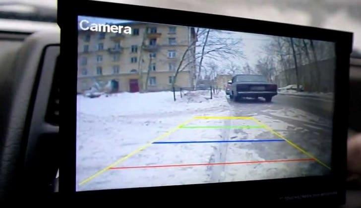 Работающая задняя камера