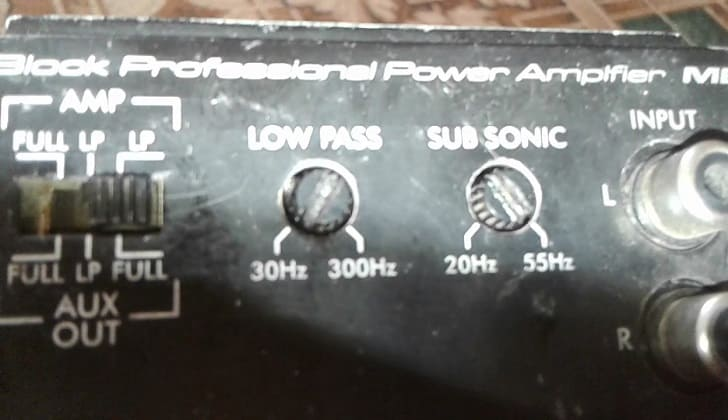 Регляторы звуковых параметров пассивной аппаратуры