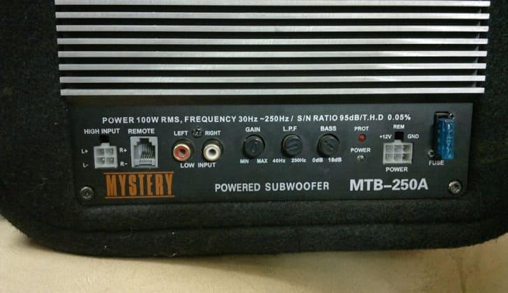 Регулятор frequency по центру слева