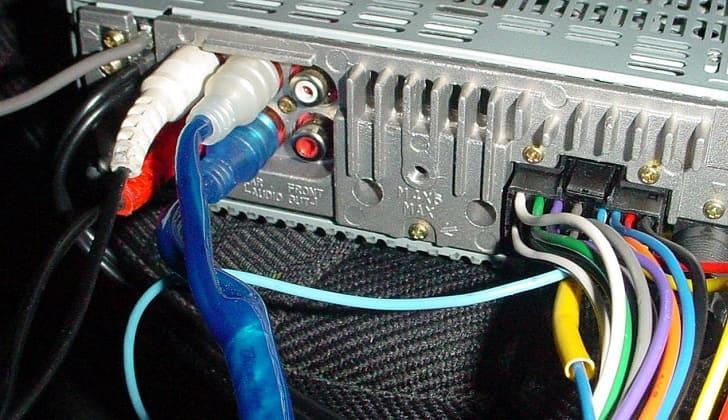 Термоусадочные кембрики на некоторых проводах