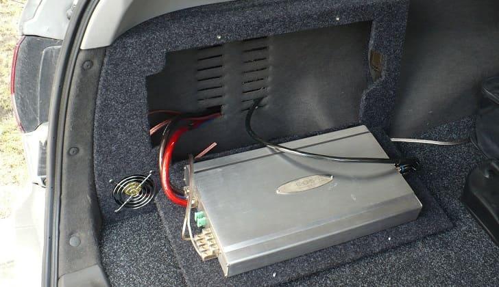 Установка пассивного звукоусилителя