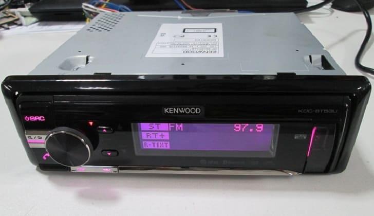 Звуковое устройство KENWOOD KDC-BT53U
