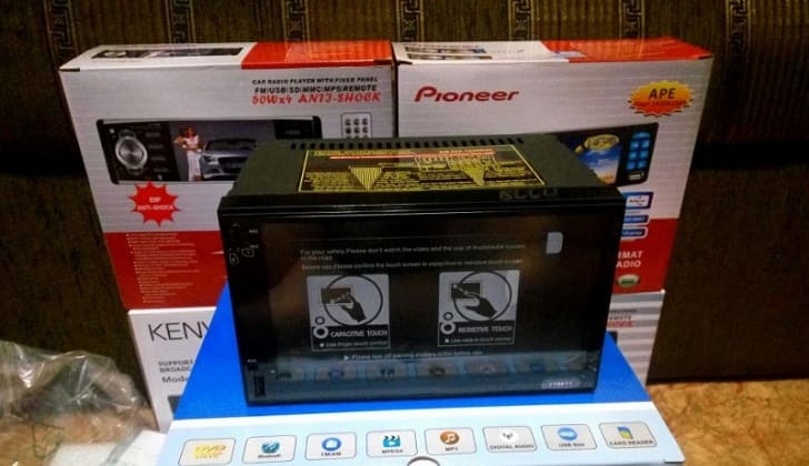 Автомагнитола Пионер 2 din