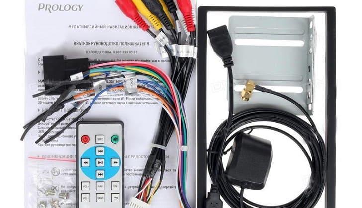 Инструкция и комплектация автомагнитолы