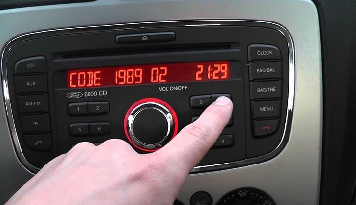 Магнитола Форд 6000 CD