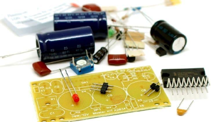 Набор для сборки усилителя звука