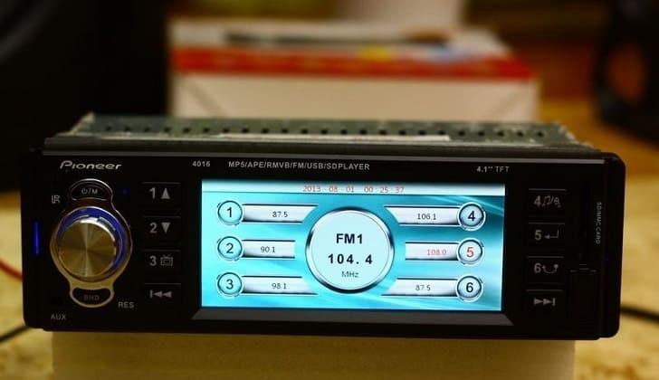 Регулировка параметров радио