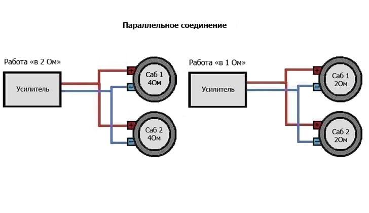 Схема с параллельным соединением