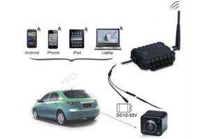 ТОП-4 беспроводных камер заднего вида с Wi-Fi модулем для автомобиля