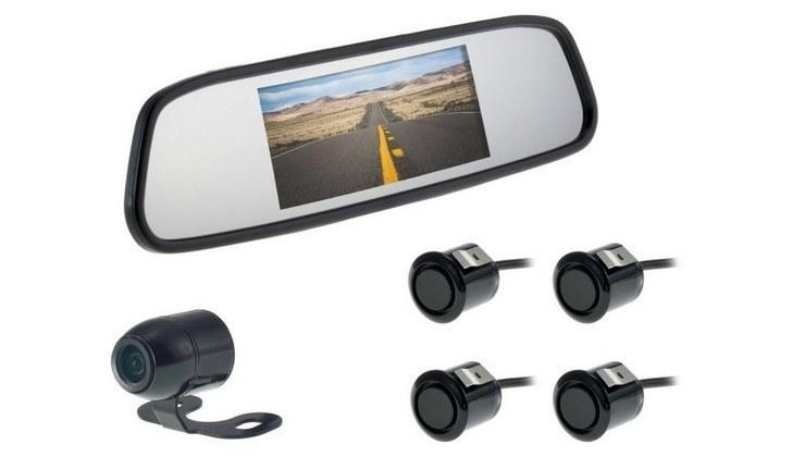Парковочные датчики и камера