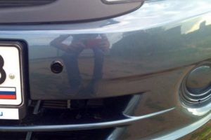 Как установить и подключить передний беспроводной парктроник своими руками
