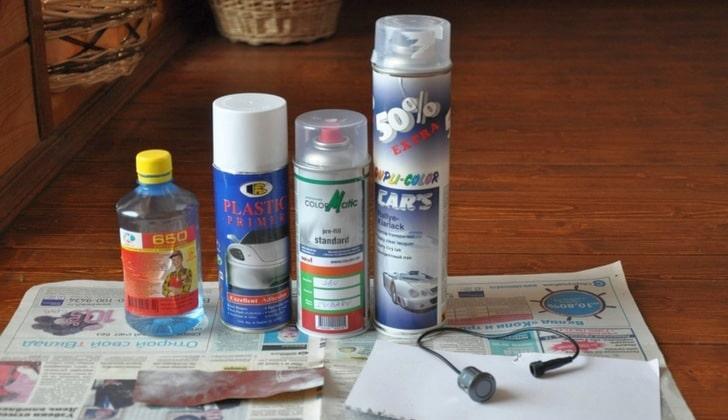 Подготовка к окрашиванию