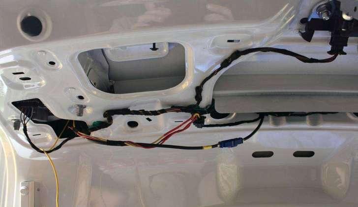 Провода автомобильной камеры