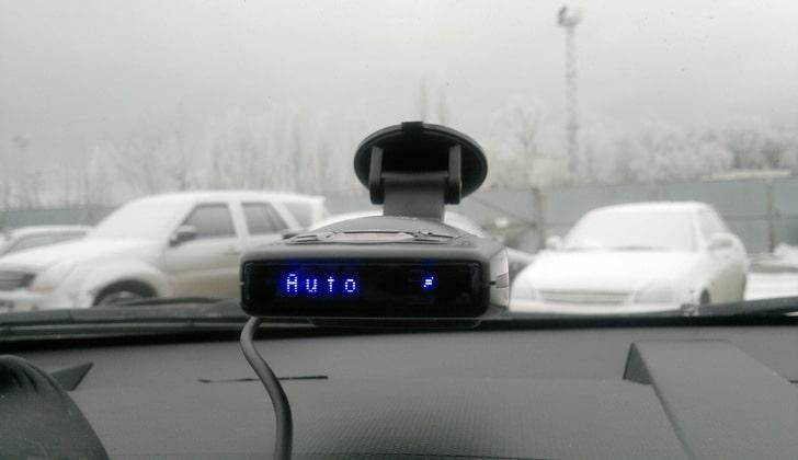 Радар в автоматическом режиме
