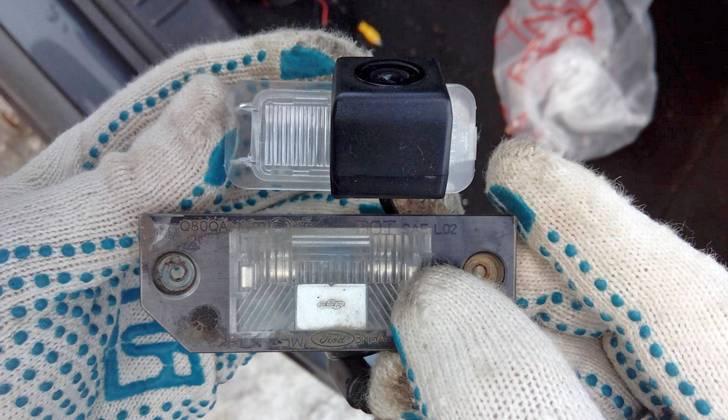 Ремонт камеры парктроника