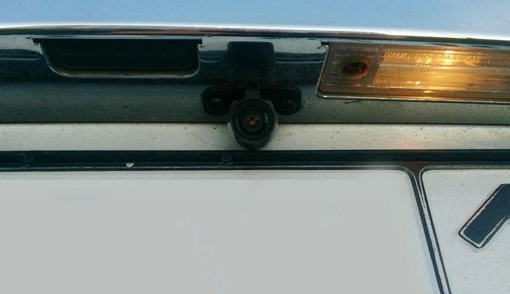 Видеокамера на Chevrolet