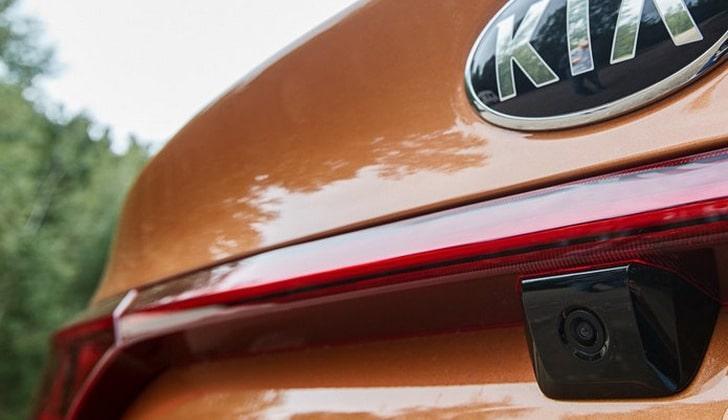 Видеокамера на автомобиле KIA