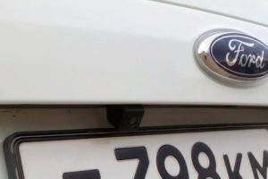 Установка парктроника с камерой заднего вида на Ford Mondeo 4
