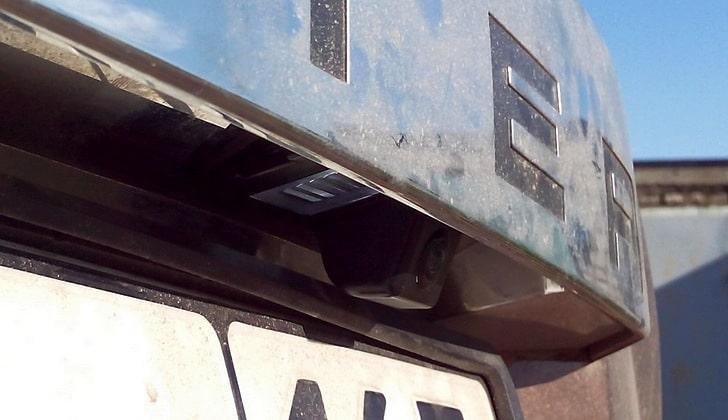 Видеокамера на машине Рено