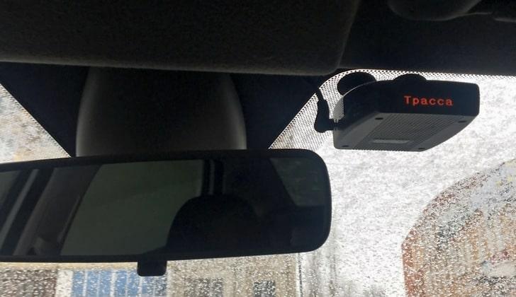 Антирадар в салоне машины