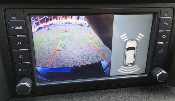 Изображение камеры УАЗа
