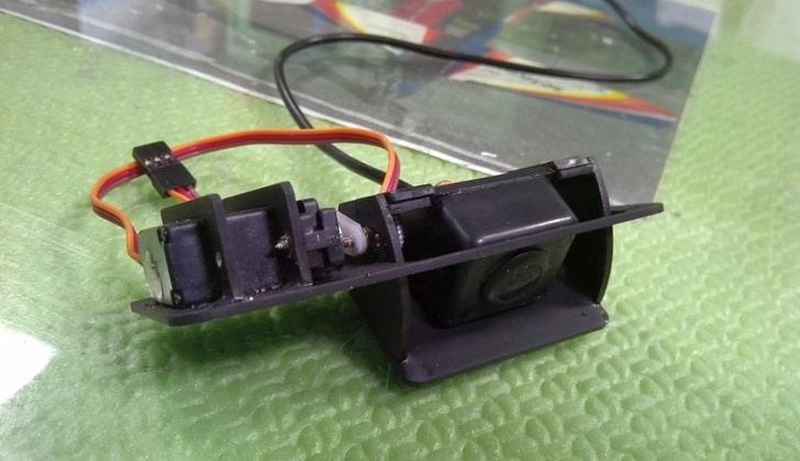 Камера с сервоприводом