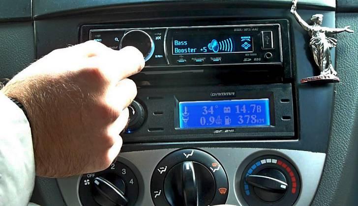Настройка автомобильной магнитолы