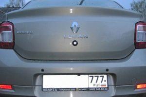 Как установить камеру заднего вида на автомобиль Renault Logan 2