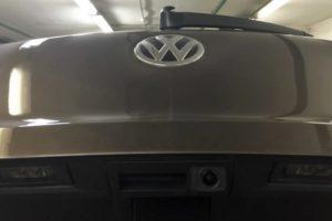 Установка проводной или беспроводной камеры заднего вида в Volkswagen Tiguan