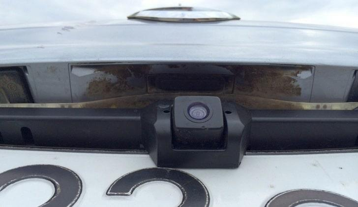 Видеокамера на Qashqai