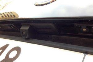 Установка камеры заднего вида на Skoda Octavia A5