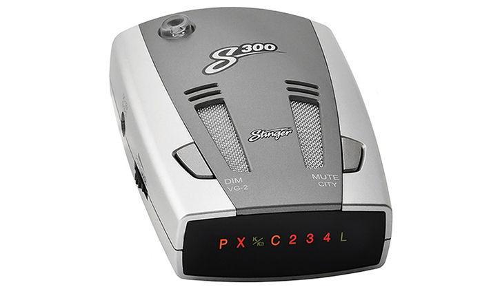 Антирадар серого цвета Stinger S300