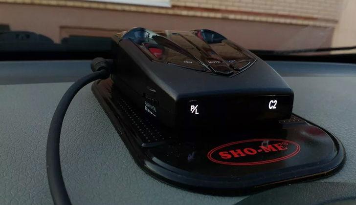 Антирадар Sho-Me 520 в машине