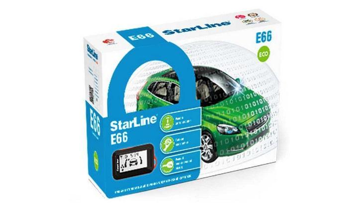 Автомобильная сигнализация StarLine E66