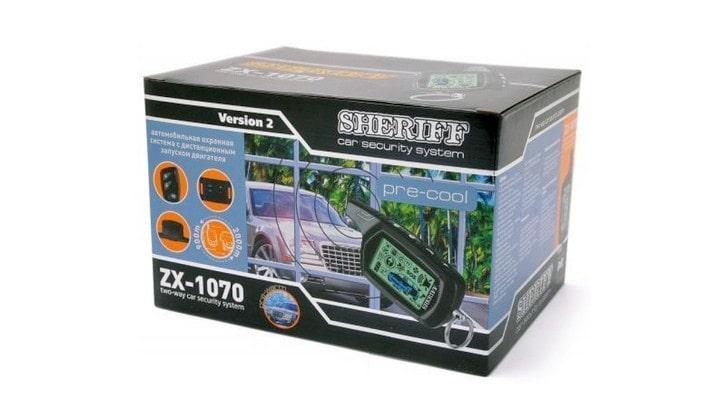 Автосигнализация Sheriff