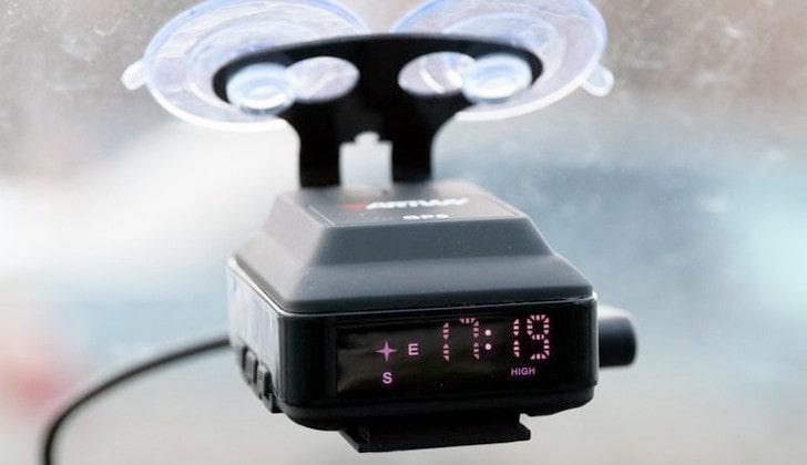 Детектор с GPS-модулем
