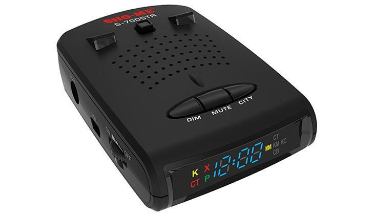 Дизайн детектора SHO-ME G-700STR