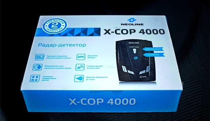 Фирма Neoline модели X-COP 4000