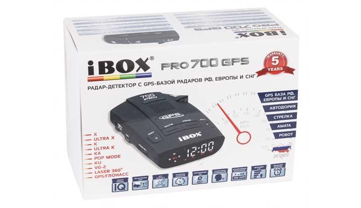 IBOX PRO 700 GPS в коробке