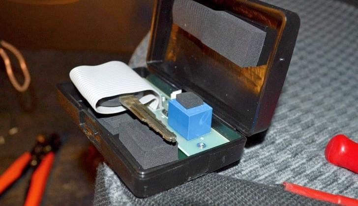 Ключ с чипом