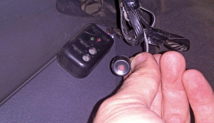 Кнопка управления сигнализацией