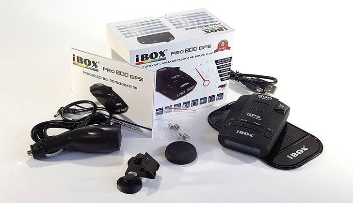 Комплектация iDox PRO 800